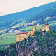 Saben Abbey On High Cliff Near Klausen View Art Print