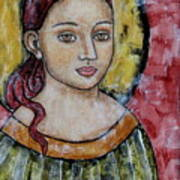 Sabrina Art Print by Rain Ririn