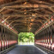 Sachs Bridge - Gettysburg - Vert.-hdr Art Print