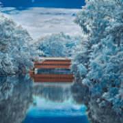 Sachs Bridge In Infrared Art Print
