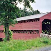Sachs Covered Bridge  Art Print