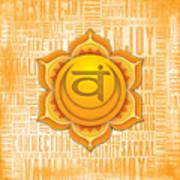 Sacral Chakra - Awareness Art Print