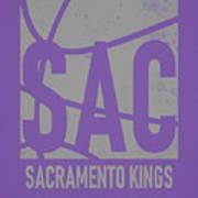 Sacramento Kings City Poster Art Art Print