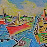 Sacramento River Art Print