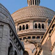Sacre Coeur Architecture Paris Art Print