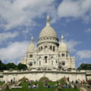 Sacre Coeur  Paris France Art Print