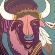 Sacred Buffalo Art Print