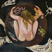 Sacred Circle 3 Art Print