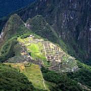 Sacred City Of Machu Picchu Art Print