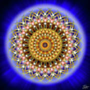 Sacred Geometry 187 Art Print