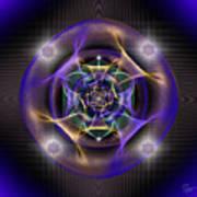 Sacred Geometry 554 Art Print