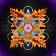 Sacred Geometry 701 Art Print