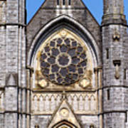 Sacred Heart Church Detail Roscommon Ireland Art Print