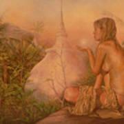 Sacred Lands Art Print