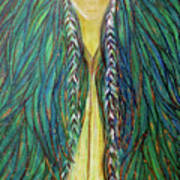 Sacred Teacher Art Print