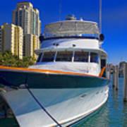 Yacht - Safe Harbor Series 39 Art Print