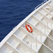 Safety At Sea Art Print