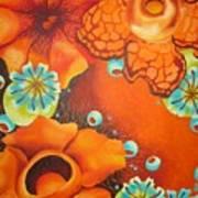 Saffron Art Print
