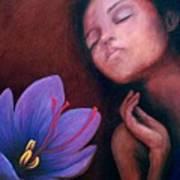 Saffron Art Print by Patricia  Dees