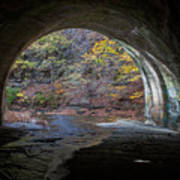 Sagamore Creek Tunnel Exit Interior Art Print