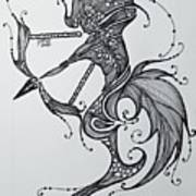 Sagittaurus Art Print