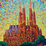 Sagrada Familia Barcelona Spain Art Print