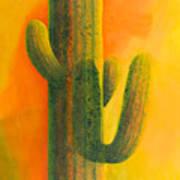 Saguaro In Summer Art Print