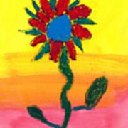 Sahale's Pastel Art Print