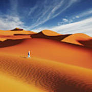 Sahara Desert, Algeria Art Print