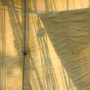 Sail And Shadows Art Print
