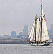 Sail Boston 2017 Union And Spirit Of South Carolina Art Print