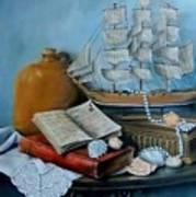 Sail By Tale Art Print