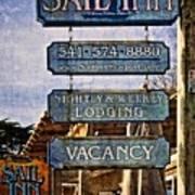 Sail Inn Art Print
