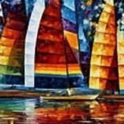 Sail Regatta Art Print