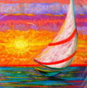 Sailaway Art Print