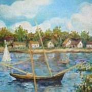 Sailing 1 Art Print