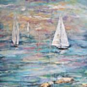 Sailing Away 1 Art Print