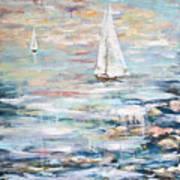 Sailing Away 2 Art Print