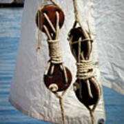 Sailing Dories 2 Art Print