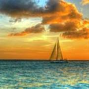 Sailing Free Art Print