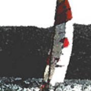 Sailing In Acapulca Art Print