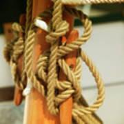 Sailing Knot Art Print