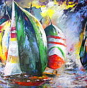 Sailing Regatta Art Print