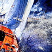 Sailing Souls Art Print