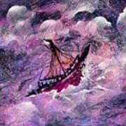 Sailing The Heavens Art Print