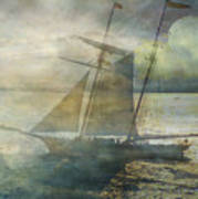 Sailing To The Moon Art Print