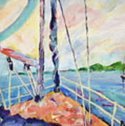 Sailing - Wind In Your Face Art Print