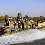 Sailors Racing Along The Euphrates Art Print