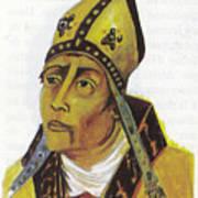 Saint Augustin Hippone Art Print
