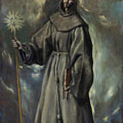 Saint Bernard Art Print
